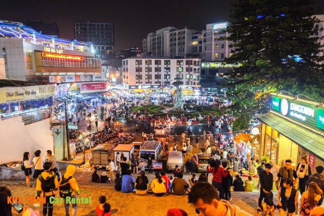dalat night market location