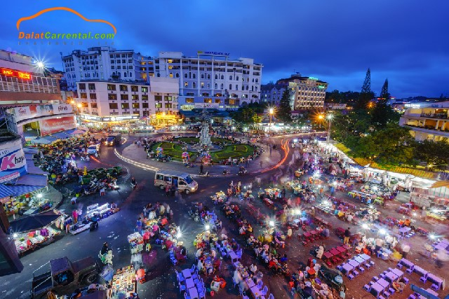 things to do in dalat at night