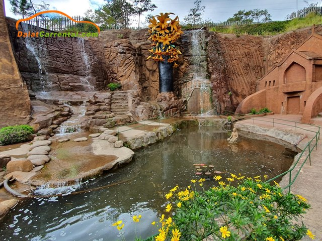 dalat clay sculptures tunnel